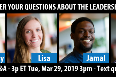 Four pastors answer live questions Tue March 19, 2019