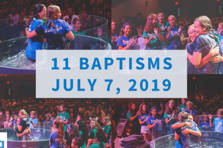 11 Baptisms - July 7 2019