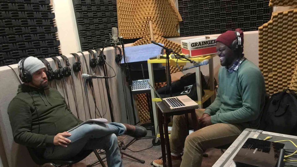 Podcast Booth: Sam Crawley & Jamal Jones